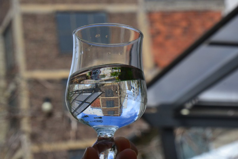 A glass of pure Costa Rican water